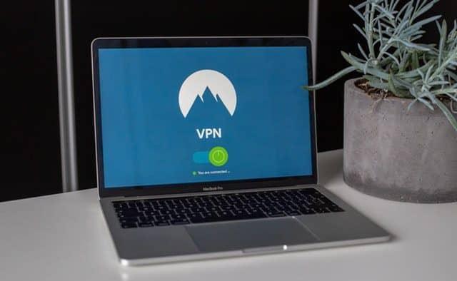 Exemple d'un VPN, ici c'est NordVPN