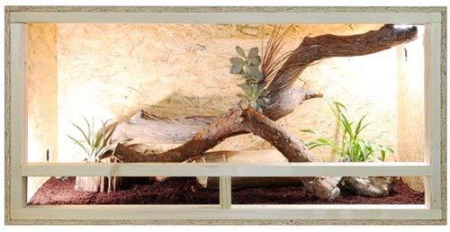 Et voici le Repiterra Terrarium Reptiles & Batraciens En Bois OSB