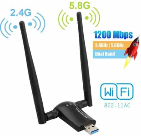 Antenne sans fil de la marque Flybiz rétro compatible