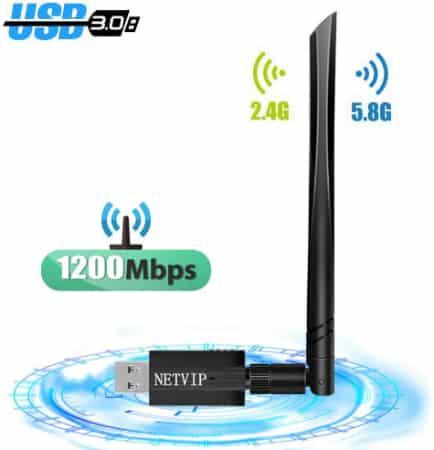Antenne sans fil zq-1A-1200M-1024 NETVIP haute vitesse