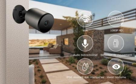 Caméra de Surveillance extérieure Veroyi