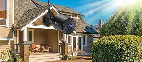 Caméra de surveillance Ctronics détection de corps humain en mouvement
