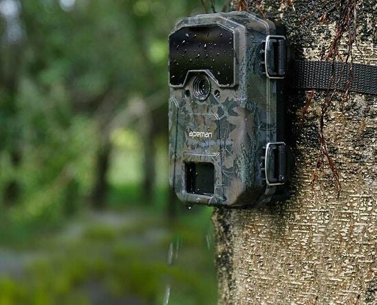 Caméra de surveillance pour la chasse Victure grand angle et full hd