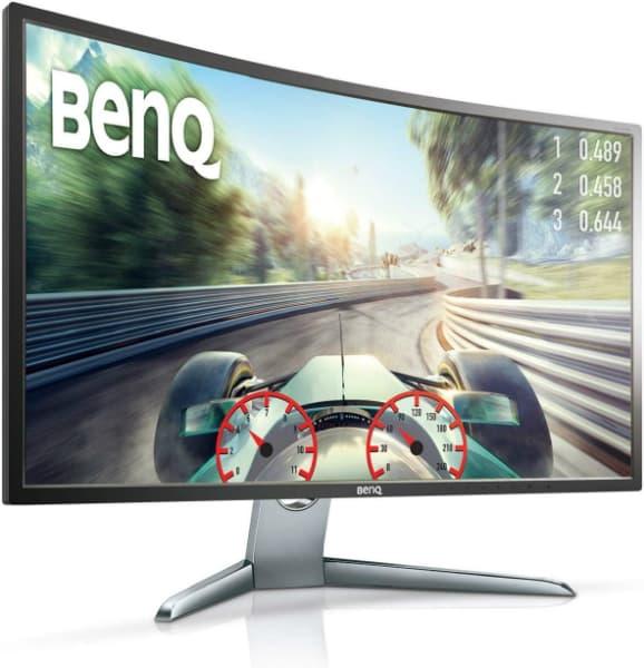 Ecran gaming BenQ EX3200R rapide temps d'attente