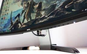 Ecran gaming incurvé BenQ EX3200R
