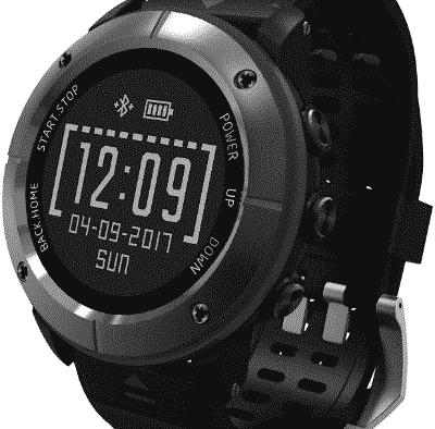 Voici la montre smart GPS Running Beisiwo