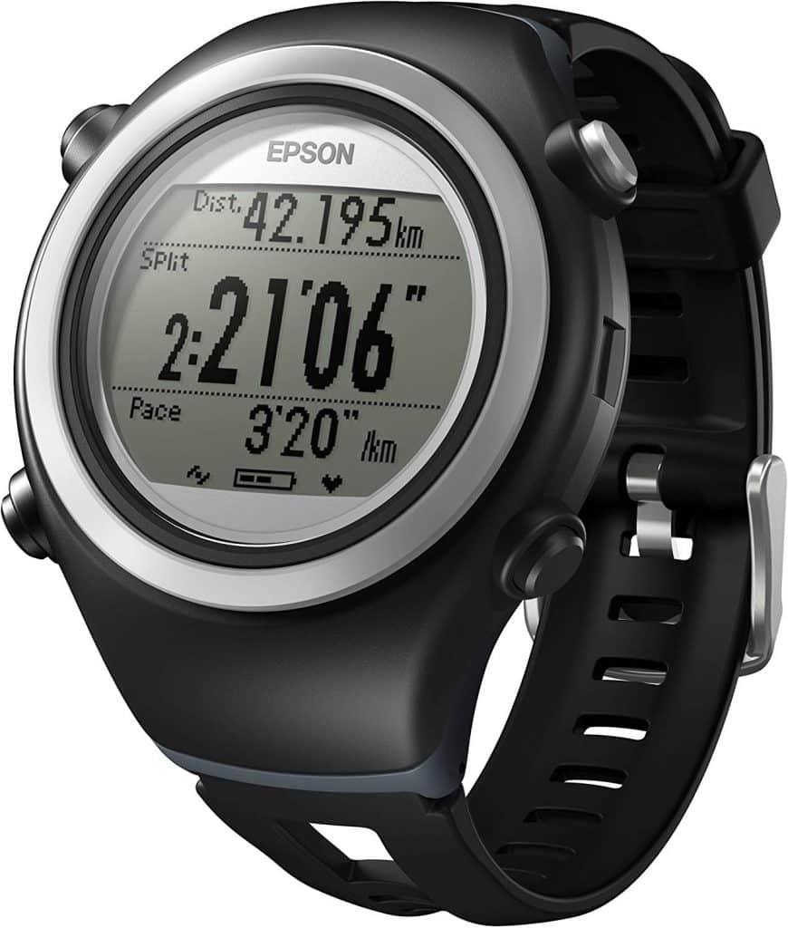 Voici la montre GPS Running Epson Runsense SF-510