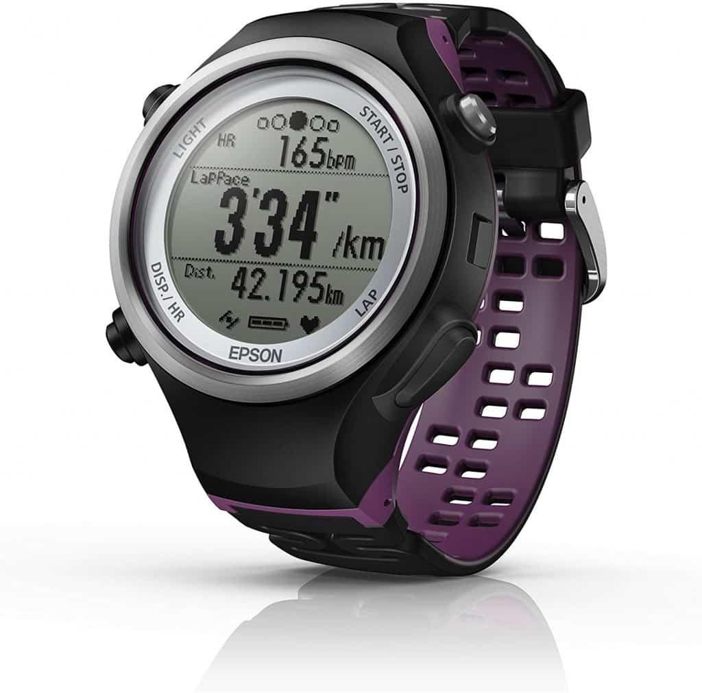 Voici la montre GPS Running Epson Runsense SF- 810