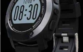 Un modèle de montre GPS Running Jun Yue