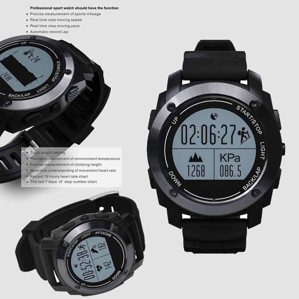 Les caractéristiques du GPS running Jun Yue OIU-727