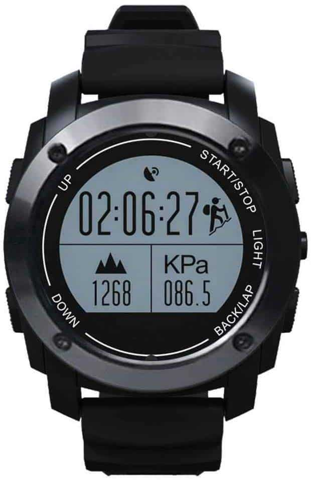 La montre GPS Running Jun Yue OIU-736