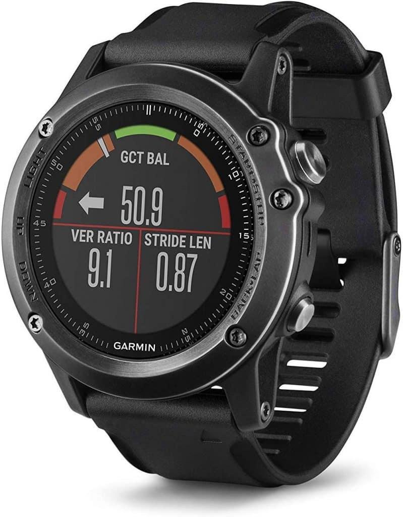 La montre mutlisposrts GPS Running Shimano Fenix 3 Sapphire Gray