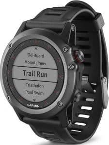 La montre multisports GPS Running Shimano Garmin Fenix 3