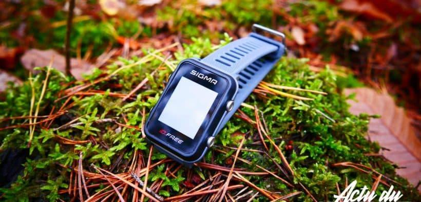 La montre connectée GPS Running Sigma