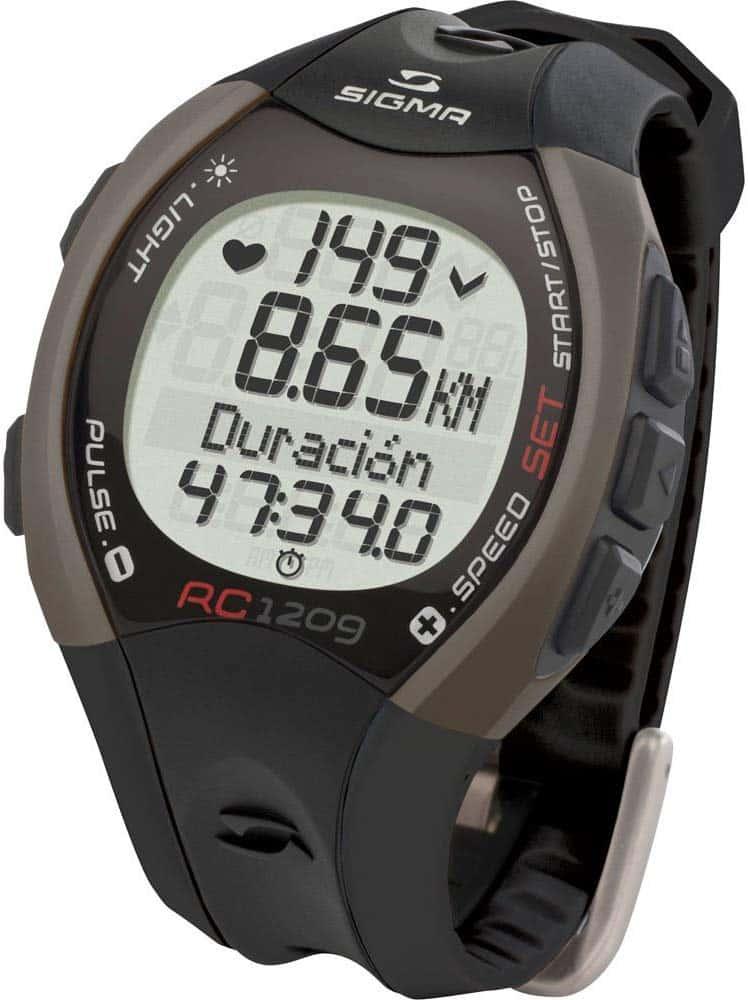 GPS Running Sigma RC 1209, la montre avec compteur de calories