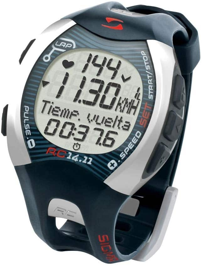 La Montre Cardio GPS Running Sigma RC 14.11