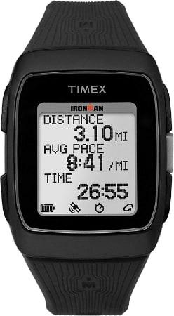 GPS Running Timex Ironman bracelet en silicone