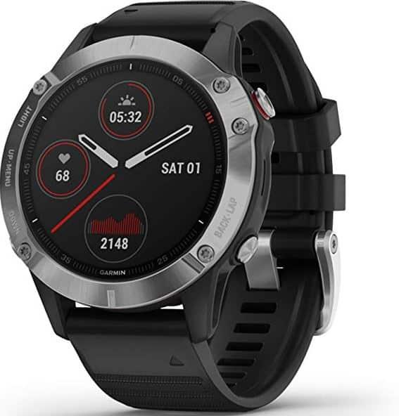 La montre GPS running Garmin Fenix 6