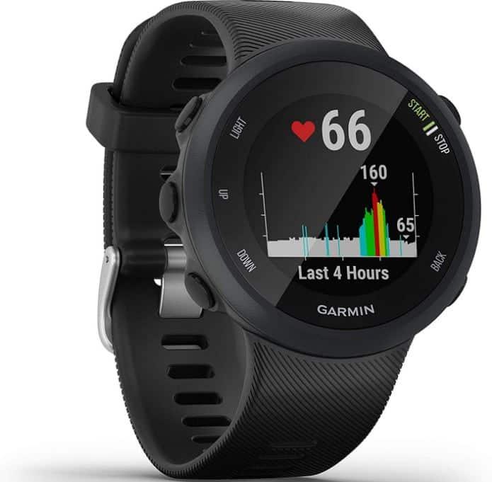 La montre GPS running Garmin Forerunner 45
