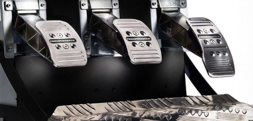 Pédalier Thrustmaster T3PA Pro haut de gamme