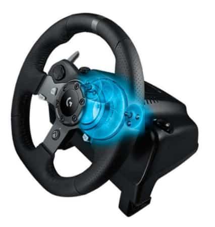 Volant Xbox Logitech G920 pour conduite réaliste