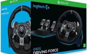 Xbox Logitech G920 avec pédales