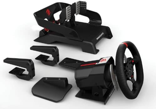 Volant Xbox One Mad Catz- Volant et pédales Pro Racing réglages personnalisables