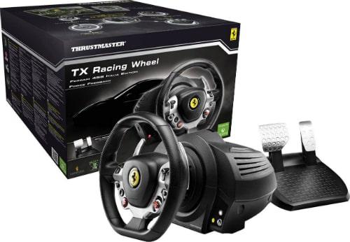 TX Racing Wheel Ferrari 458 Italia Edition revêtement en caoutchouc