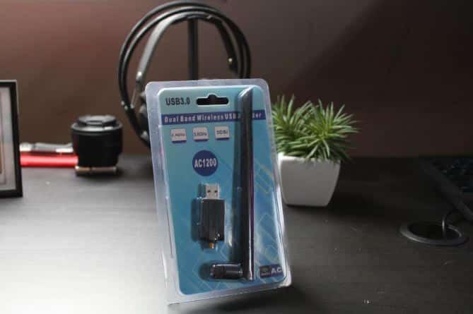Antenne WiFi Wireless-USB-WifiREC-Black EasyULT transmission ultra rapide