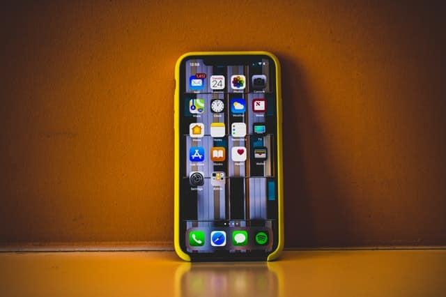 Exemple d'un iPhone