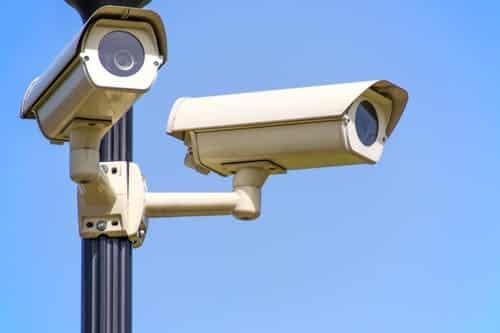 caméra de surveillance emplacement