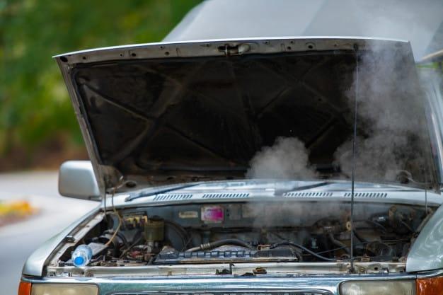 moteur en surchauffe