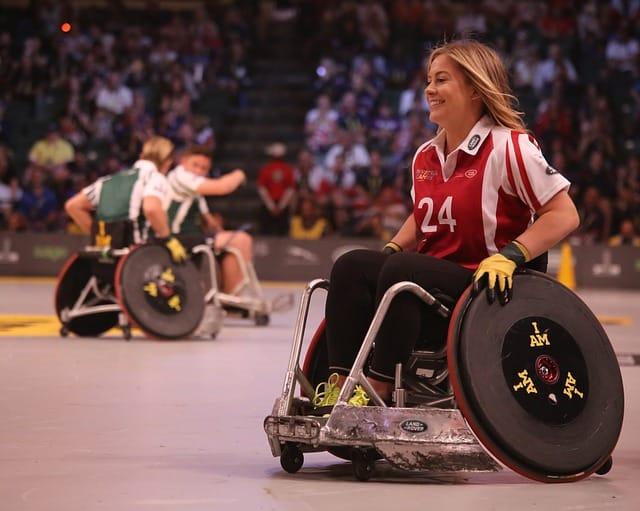 Sport pour personnes en fauteuil roulant