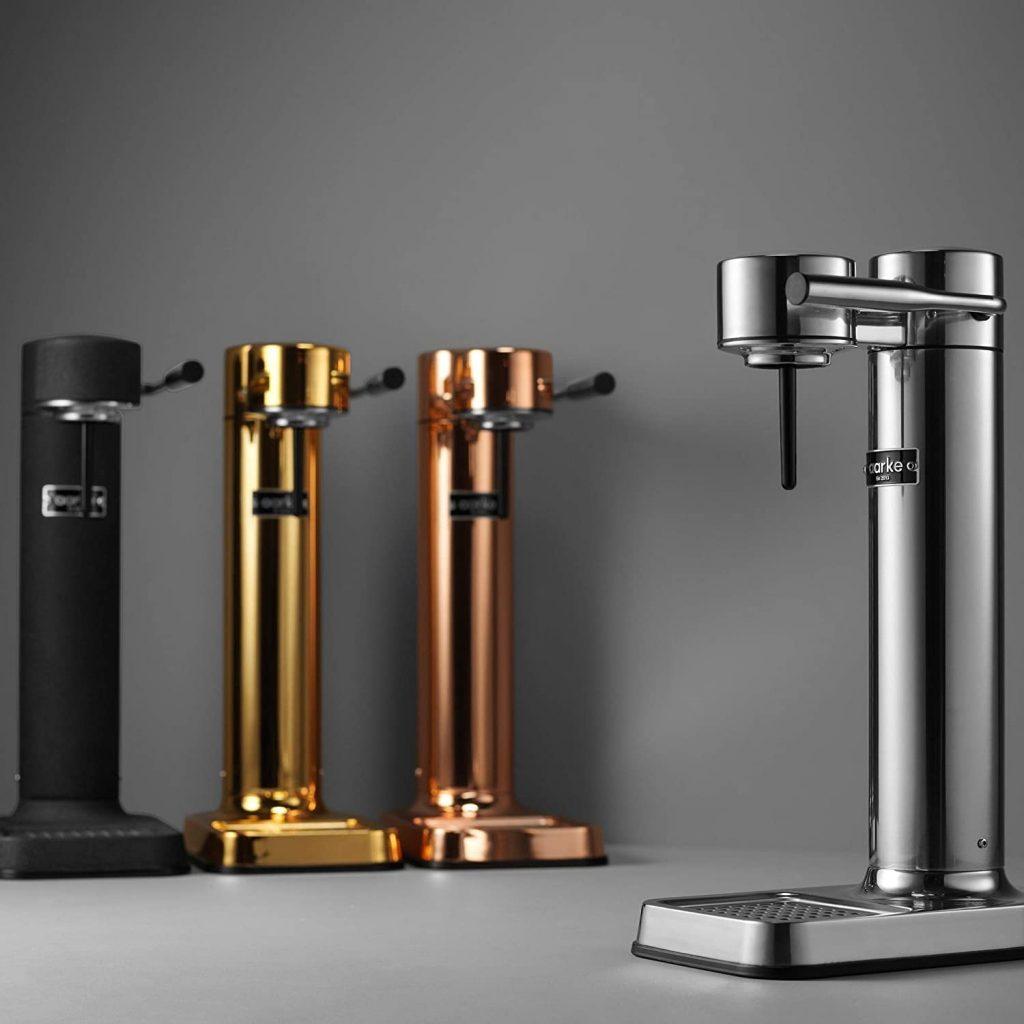 Aarke Carbonator II est une machine à eau gazeuse très haut de gamme