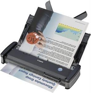 C'est un scanner compact de très bonne qualité