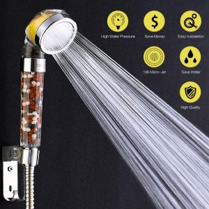 Une des meilleures douchettes anti-calcaire du moment
