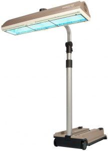 Une lampe de bronzage UV de qualité