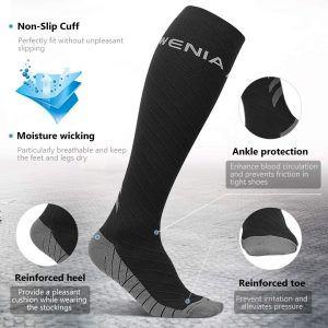 Ce sont des chaussettes de compression de très bonne qualité