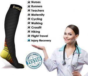Les meilleures chaussettes de compression du marché