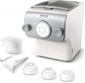 Une machine à pâtes pour réaliser différentes préparations