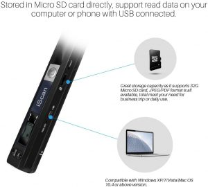 Il s'agit d'un scanner portable de très bonne qualité