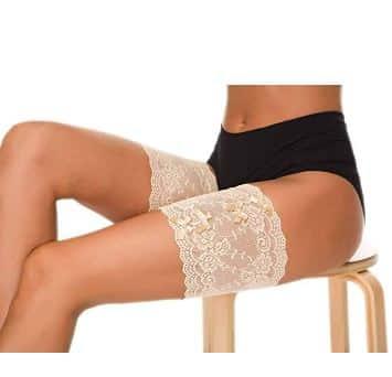 Soyez sexy et confortable avec ce Bandeau de Cuisse Elastique anti-frottement