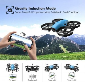 Il s'agit d'un mini-drone performant